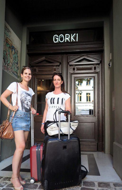 Abreise: Es war ein wunderschöner Aufenthalt in den Gorki Apartments.