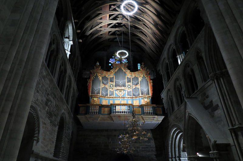 Orgel von 1741.