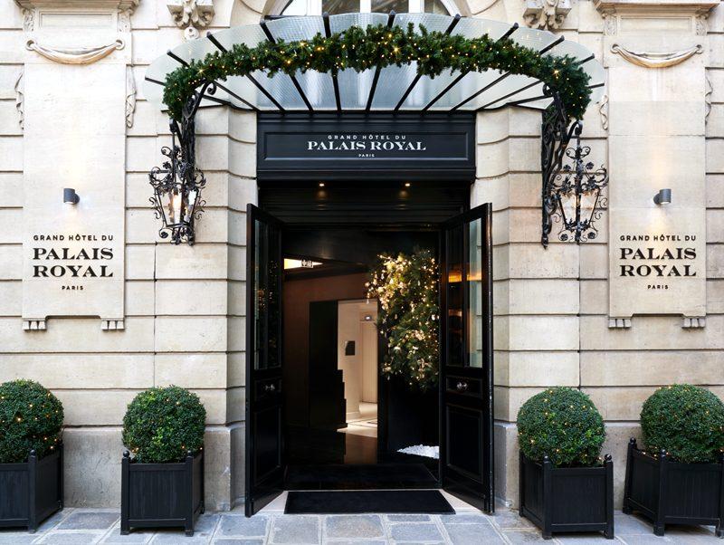 Ein herzliches Willkommen im Grand Hôtel du Palais Royal. (Foto: SLH)