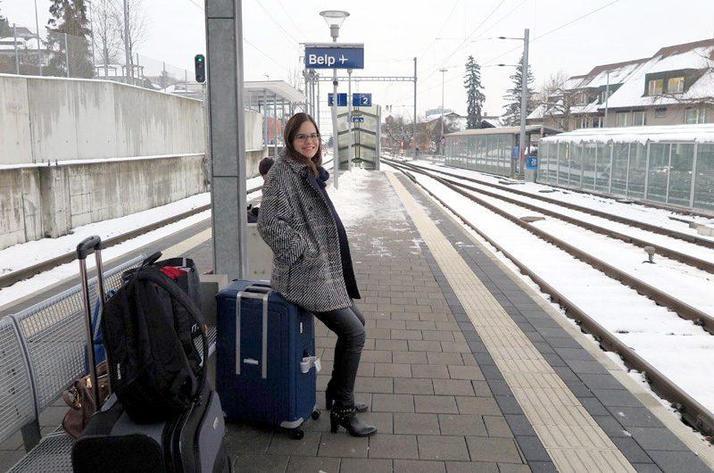 Gute Anbindung: Via Belp erreicht man in einer halben Stunde den Bahnhof in Bern.