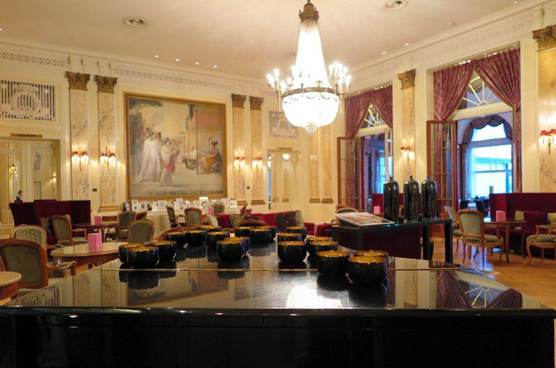 Die Bühne: Das Restaurant Vue.