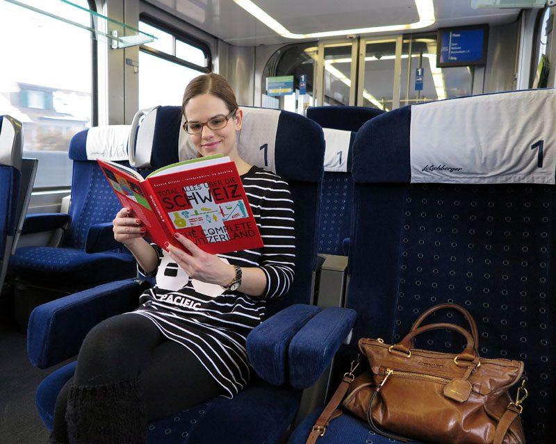 Entspannt geht es von Bern mit dem Zug ins Emmental.