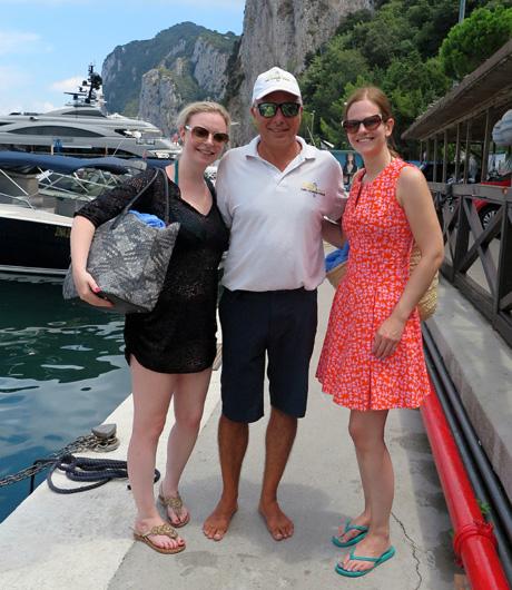 Danke an Capri Boats für die wunderschöne Tour um die Insel.