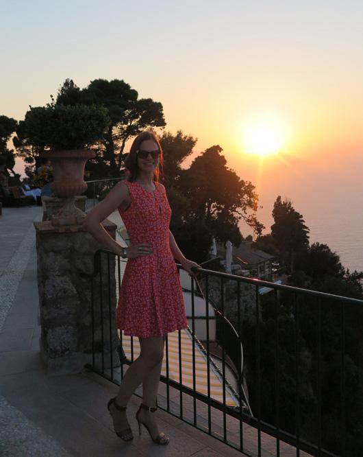 Hach Capri, deine Sonnenuntergänge.