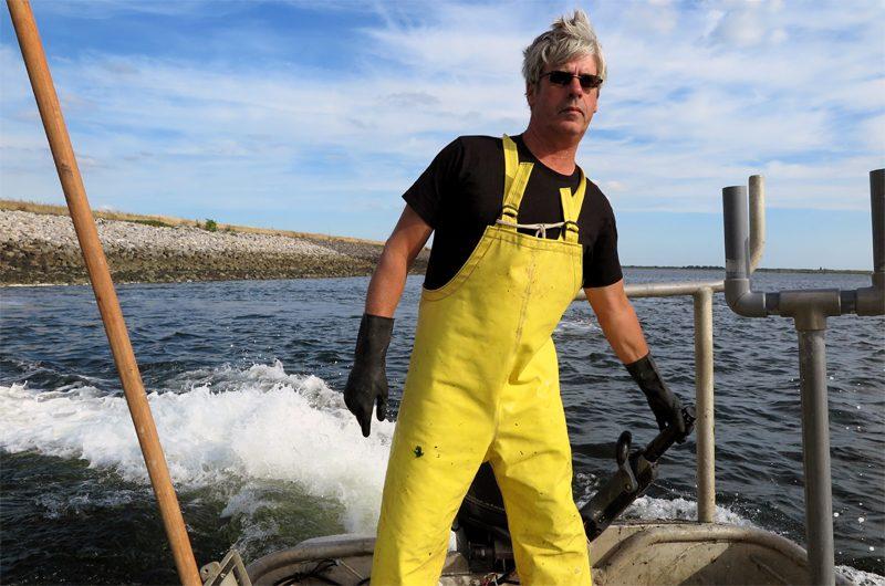 Der Fischer und das Meer: Henk Jumelet lädt uns auf sein Boot ein.